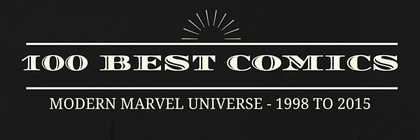 the best 100 marvel comics of the 200's