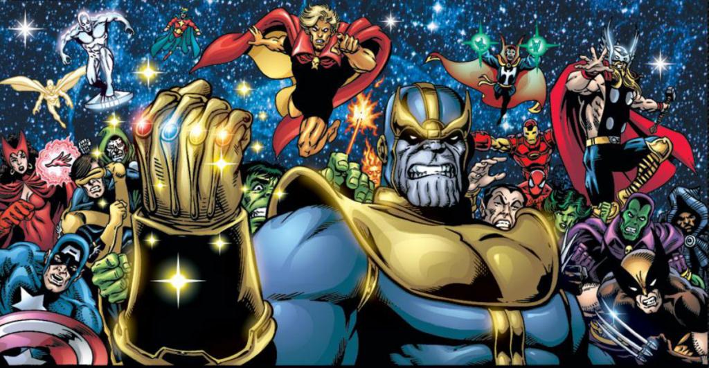 Thanos In Avengers 2