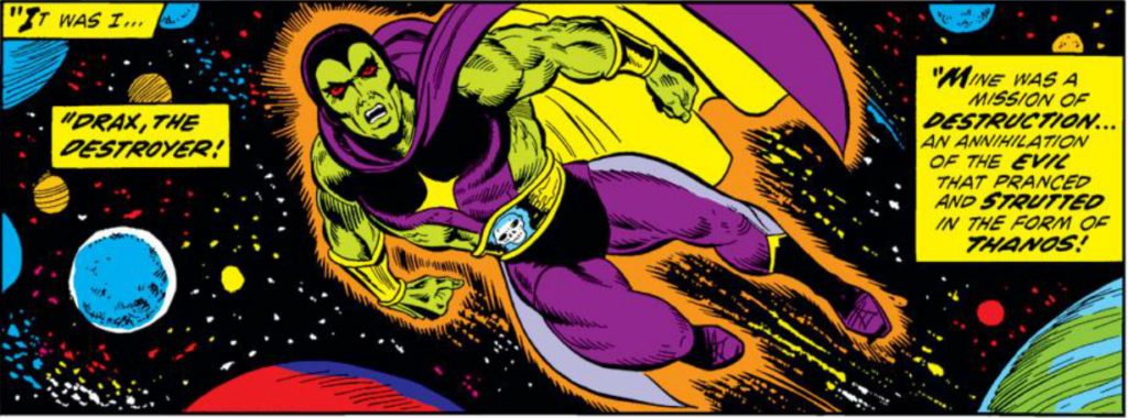 Drax The Destroyer Vs Venom: Thanos 1st Appearance And Life Of Captain Marvel (22-33