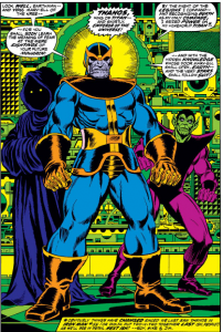 Thanos First Captain Marvel Appearance