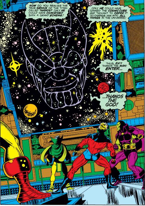 Godlike Thanos