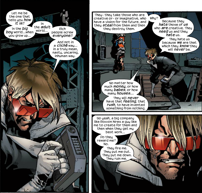 Brief Moments In Comic Book Analysis: Ultimate Spider-Man