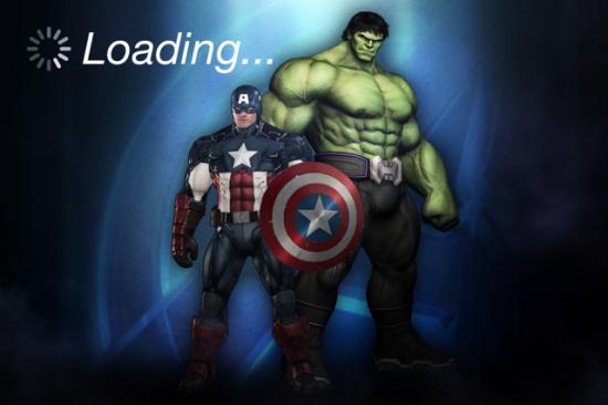 Cap & Hulk Avengers App