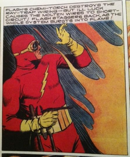 Flash Gordon as Flash DC