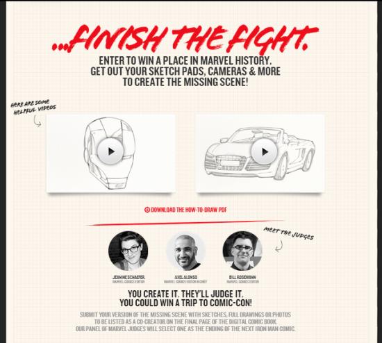 Iron Man Audi Fight