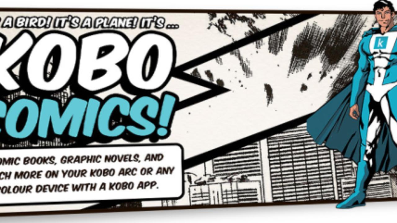 Kobo eReader for Comic Books - Need a Comixology Alternative?