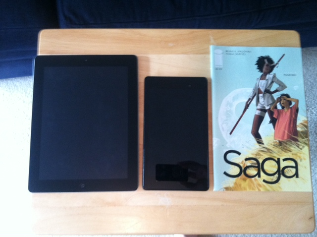 Comic Books on iPad, Nexus 7    Which Tablet Should You Buy?