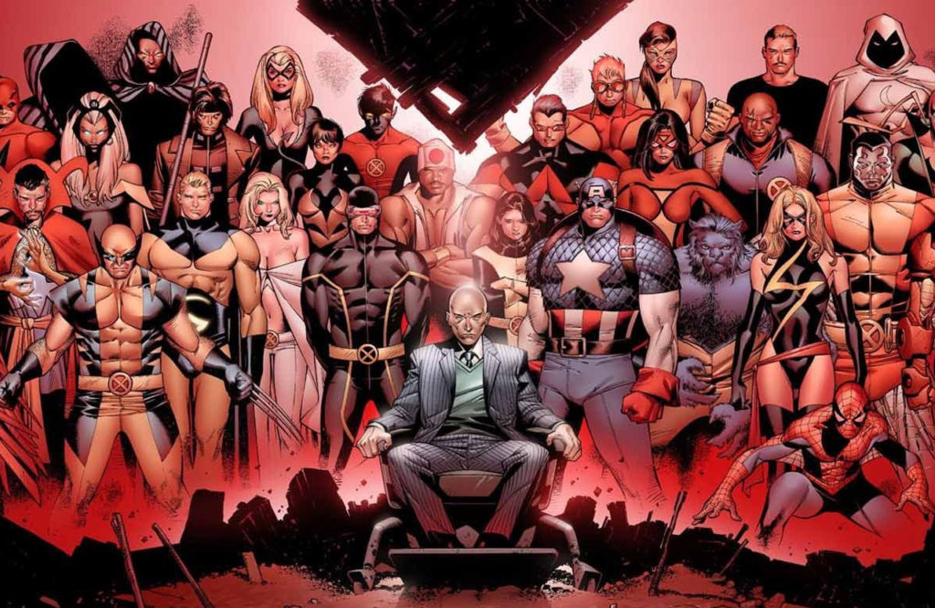 The House of M Marvel event from Brian Michael Bendis