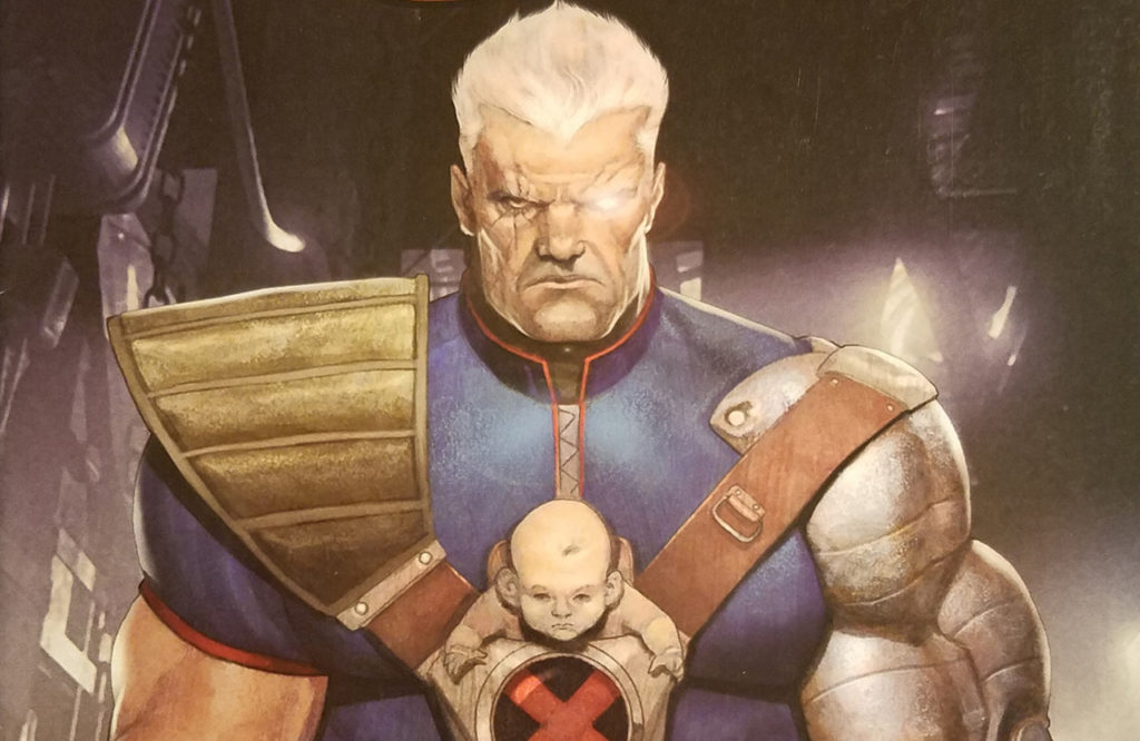 X-Men Messiah Saga comics starring Cable and Hope