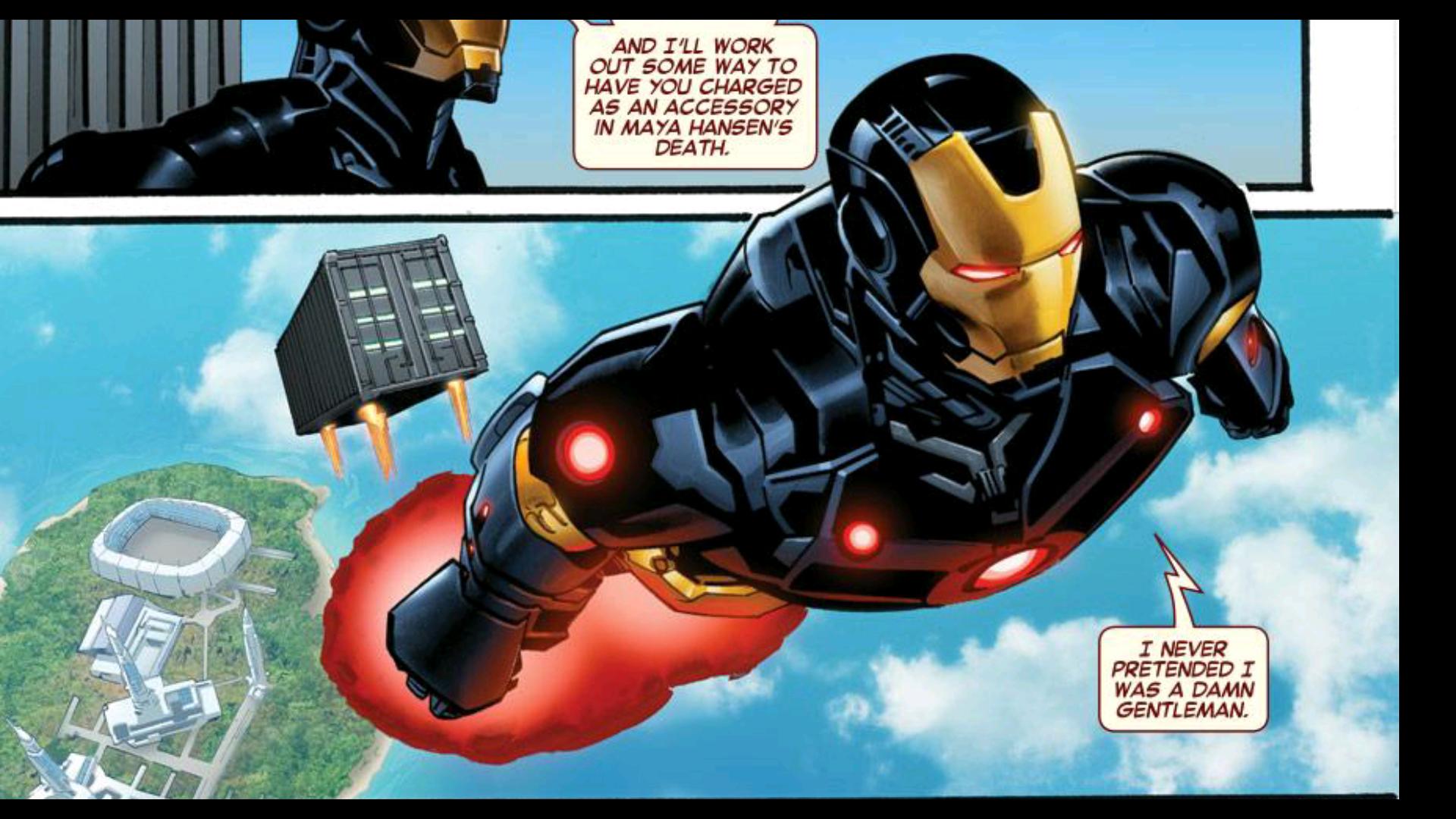 Iron Man 2 Not a Hero