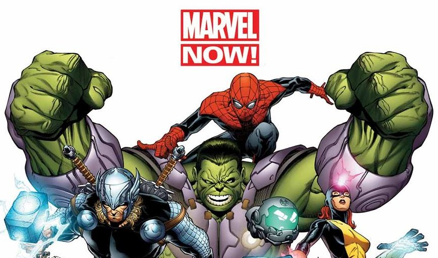 The start of Marvel NOW!