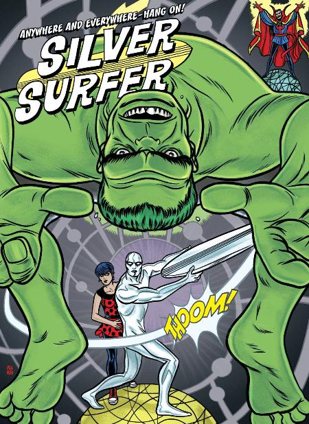 silver-surfer-wacks-the-hulk-with-board