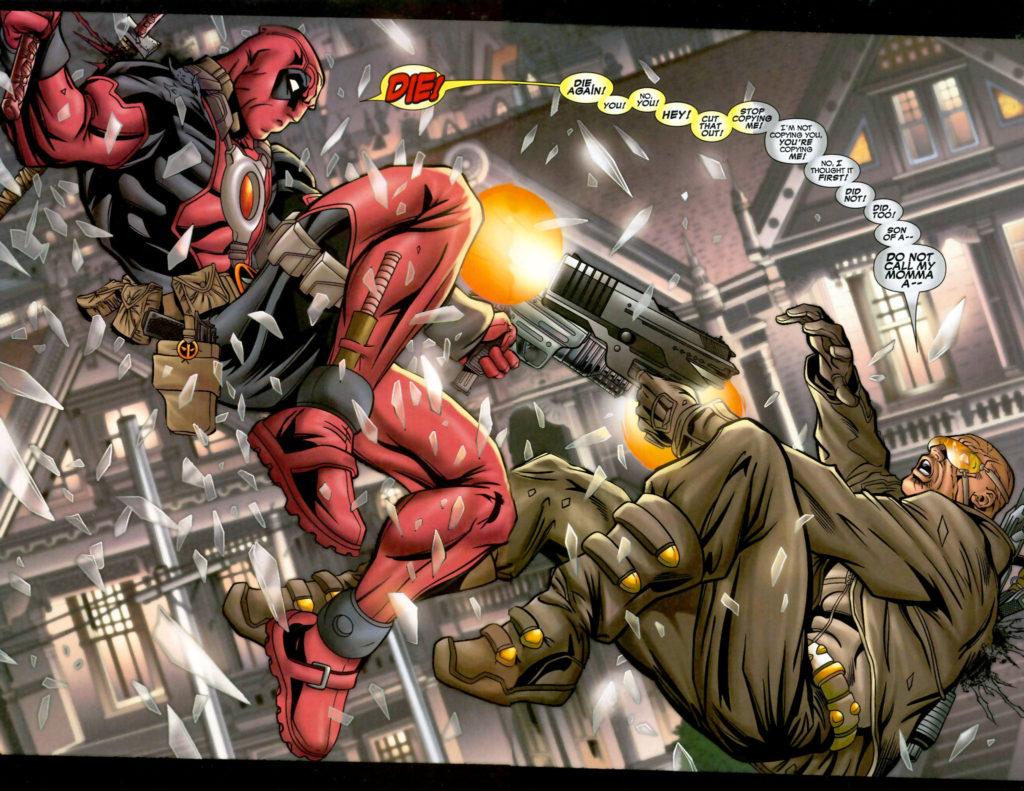 Deadpool versus Agent X