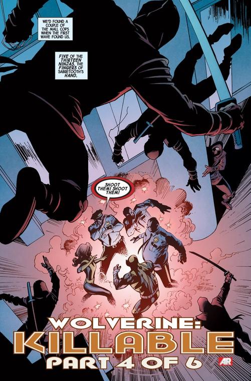 The ninjas attack