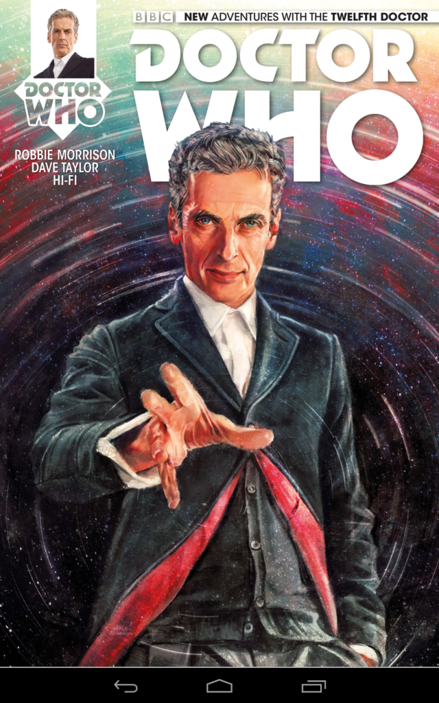 doctor who 12th doctor comics