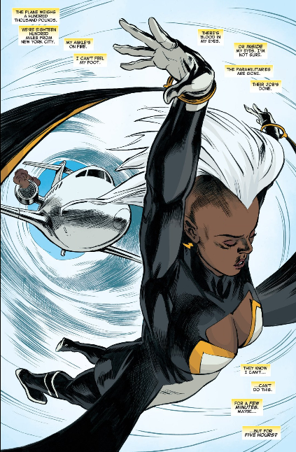 Storm is a hero
