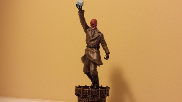 The Red Skull marvel chess collection piece