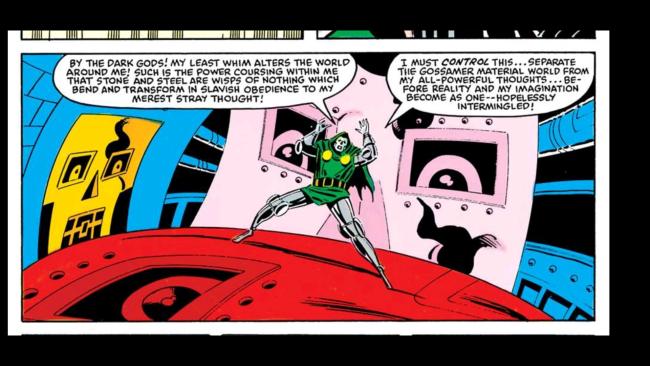 Doom has all the power