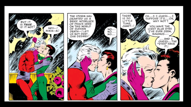 Magneto and the Wasp love