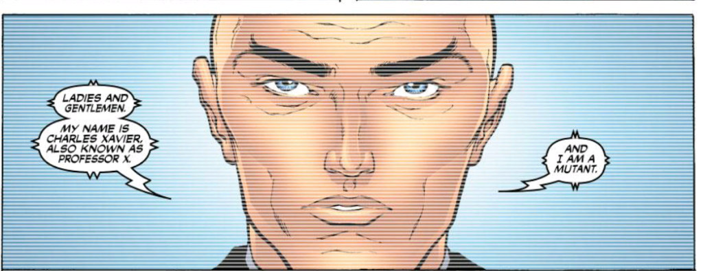 Professor X Reveals He's a Mutant