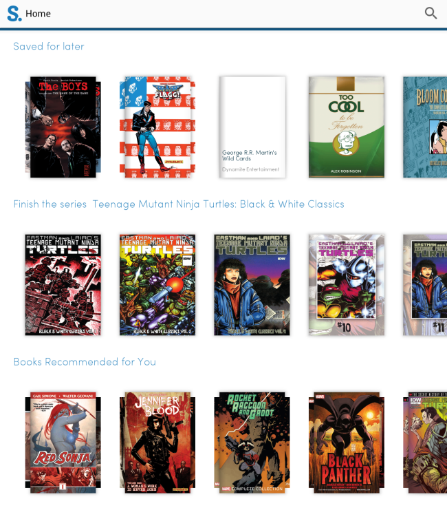 Scribd comic suggestions