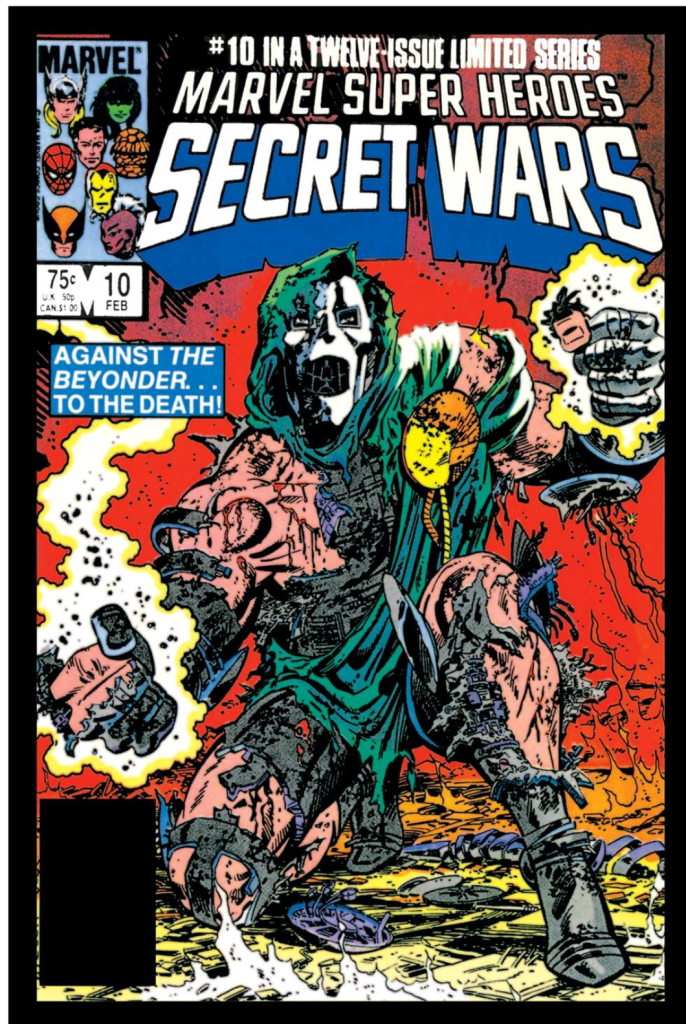 doctor doom beyonder battle cover