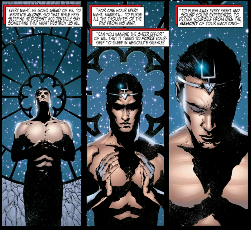 Black bolt meditation