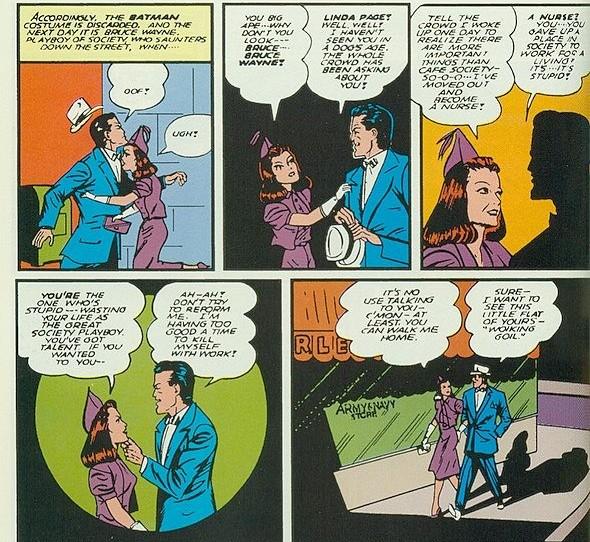 Bruce Waynes ladies