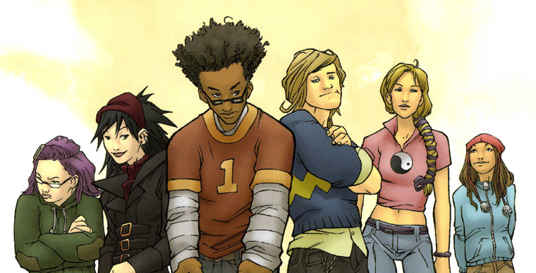 Marvel's Runaways comic book