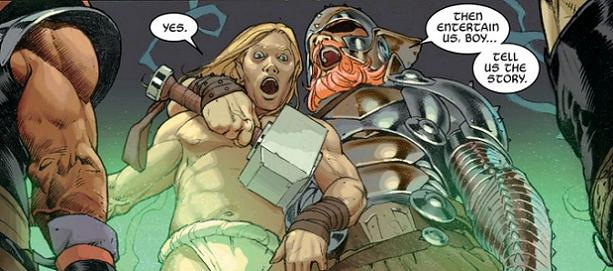 """""""...And make it a good one!"""" (Thors do love their mythology...)"""