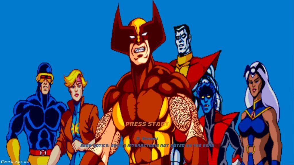X-Men 90's Arcade Game