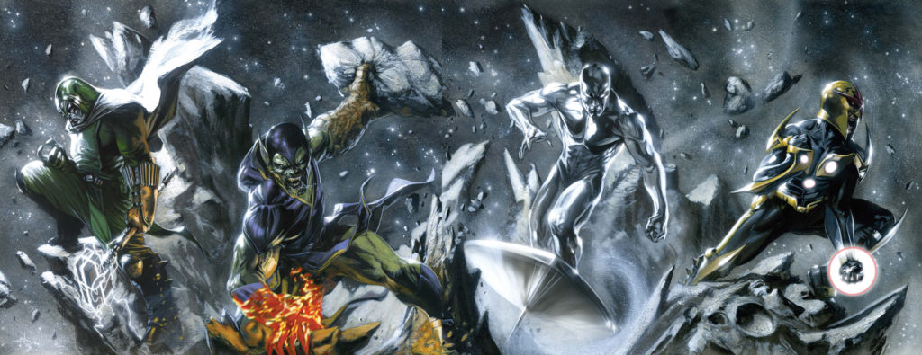 Silver Surfer during the Annihilation War