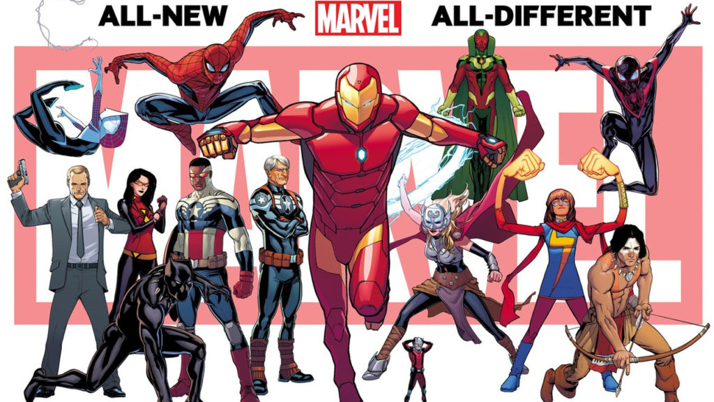 Marvel's All New All Different Comics