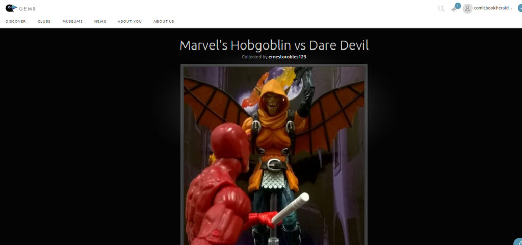hobgoblin action figure on gemr