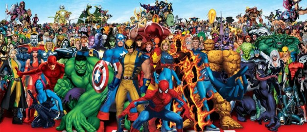 The full Marvel Universe
