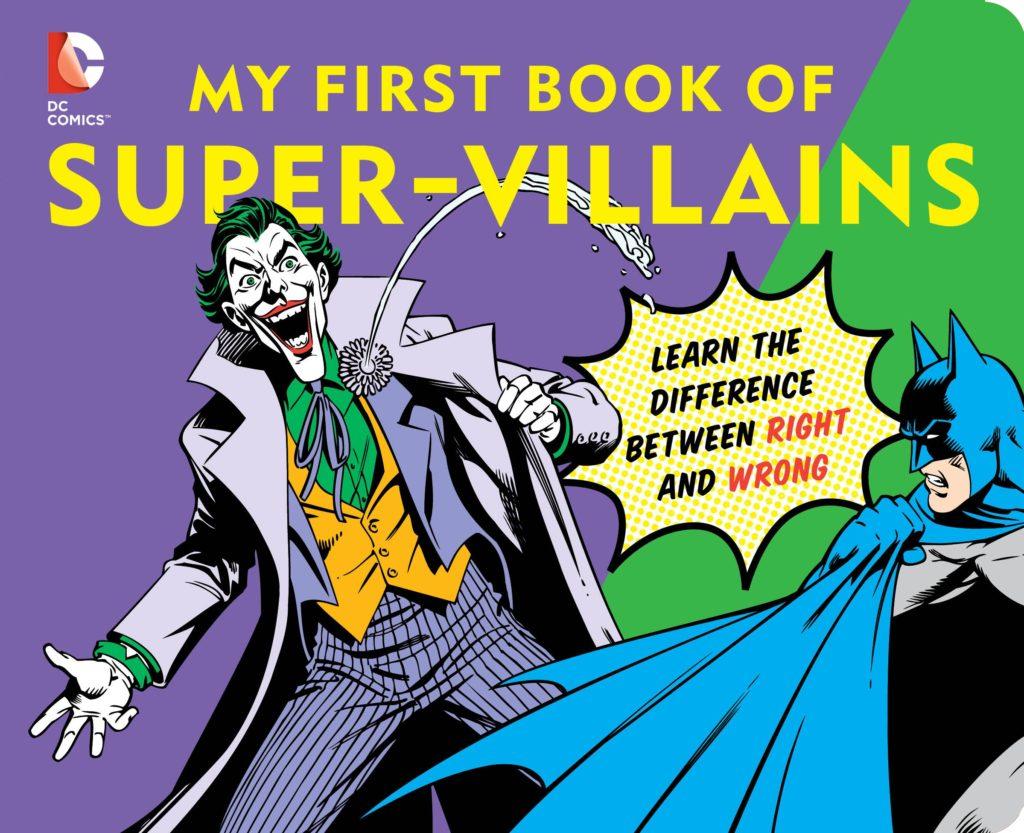 Super Villain Child Book
