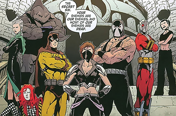 The Secret six featuring Deadshot