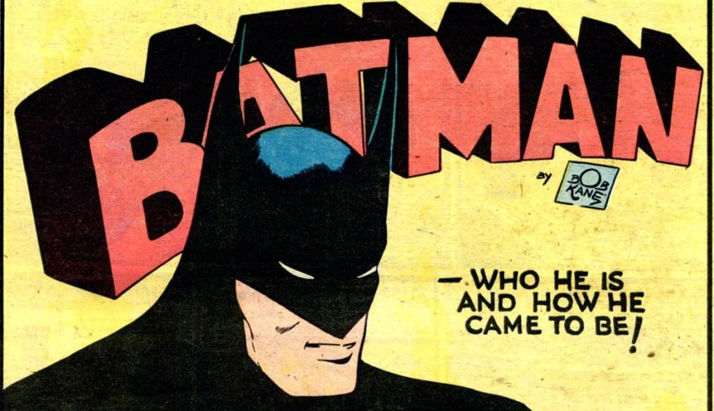 Earliest Batman Comics