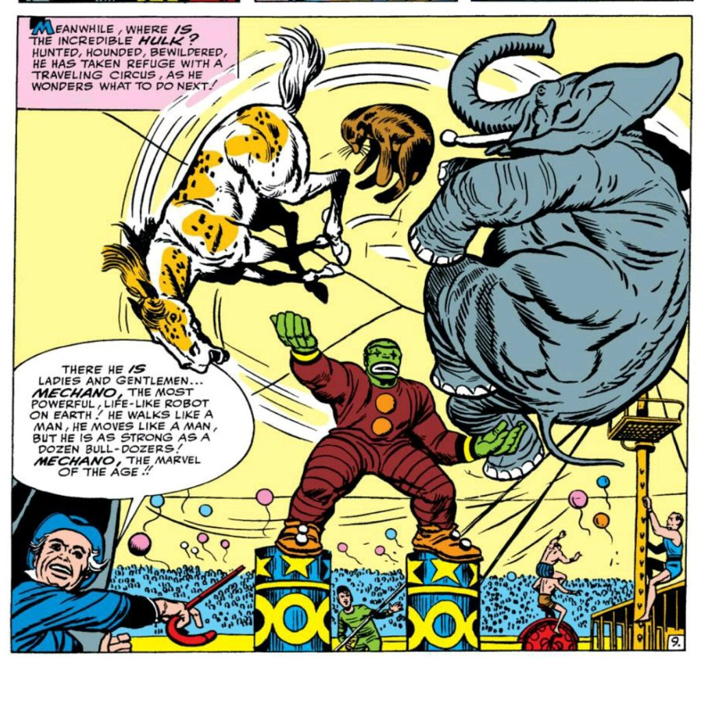 Hulk the circus clown