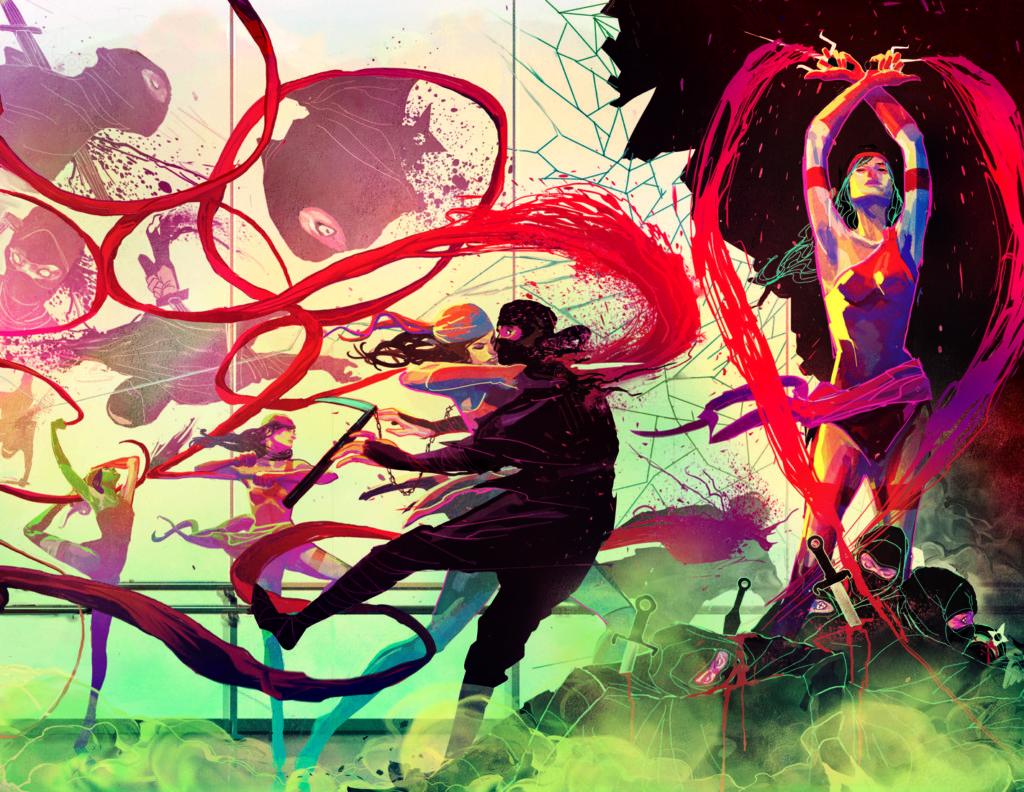 Michael Del Mundo art on Elektra
