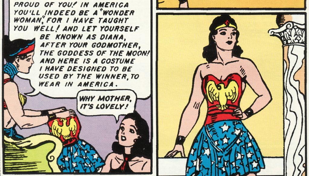 Early Wonder Woman comics