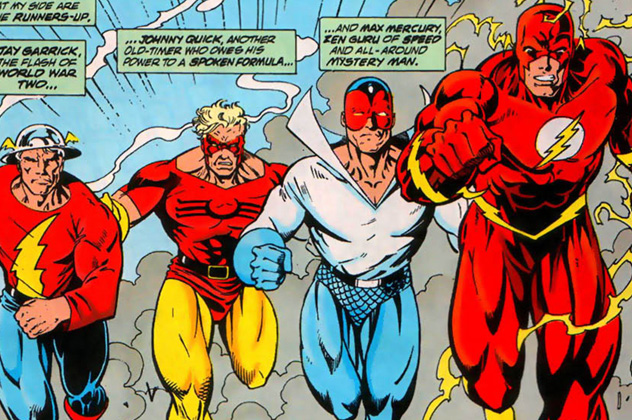 Mark Waid's 90's run on The Flash is a fan favorite