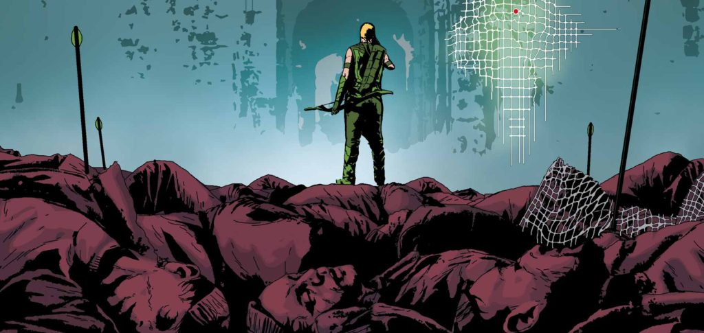 Green Arrow the New 52 Killing Machine