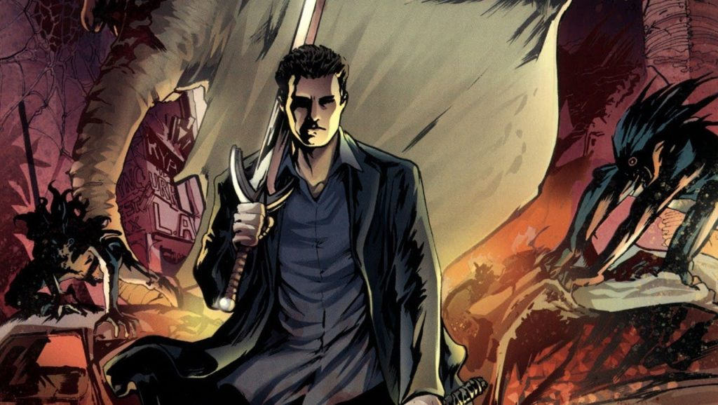 Angel comic books continue after the fall