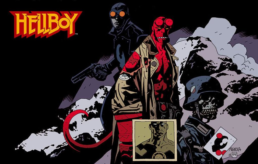 mike mignola hellboy art