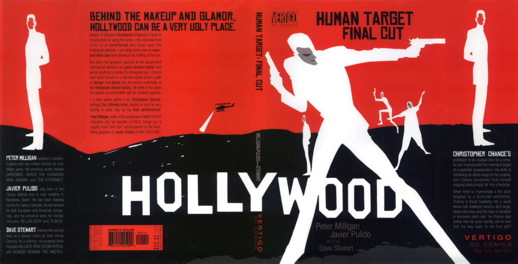 Human Target comics from Peter Milligan