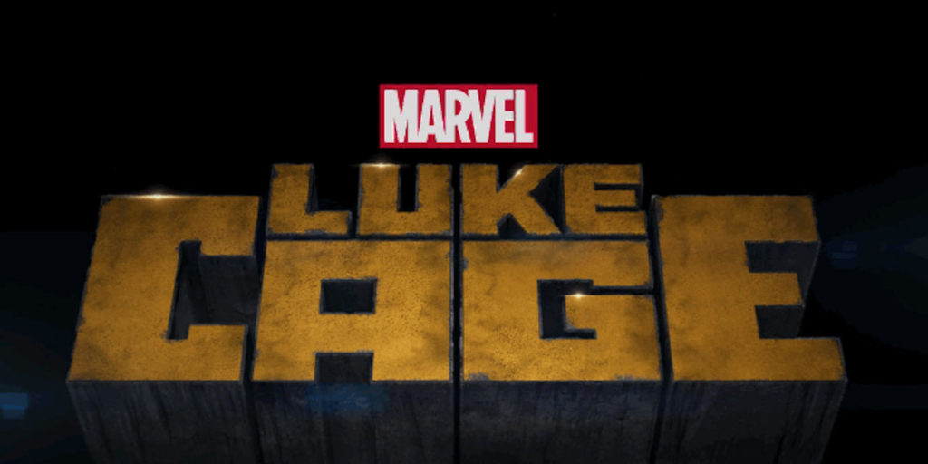 The logo font for Marvel's Luke Cage