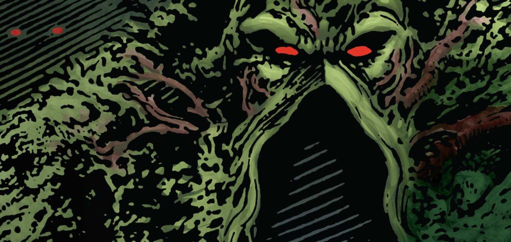 Swamp Thing comic books from Vertigo