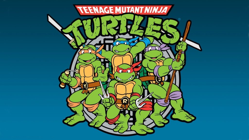 90's cartoon turtles
