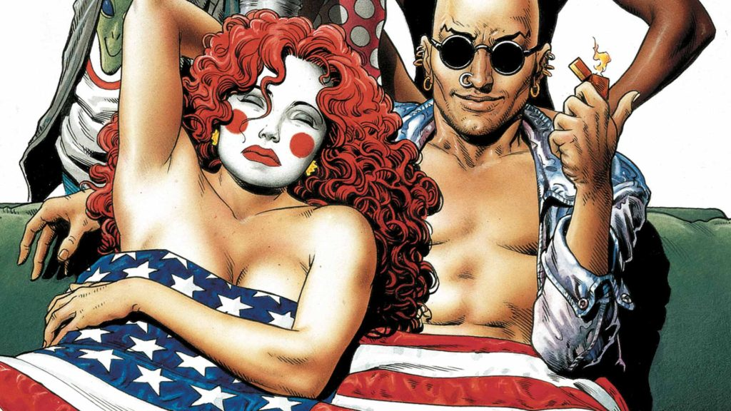 Invisibles comic books from Vertigo